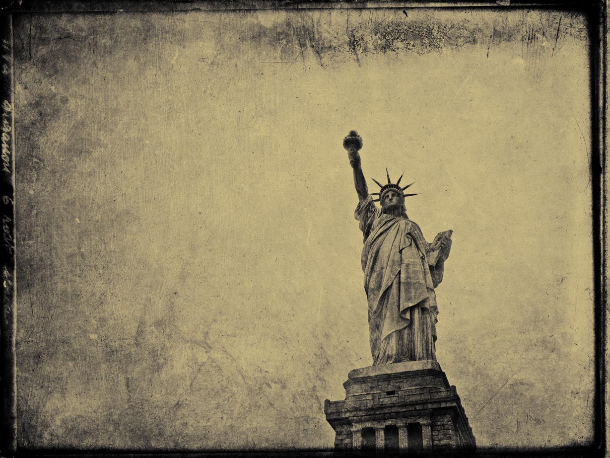New York City NYC Occupy Wall Street Statue of Liberty Taxis ...